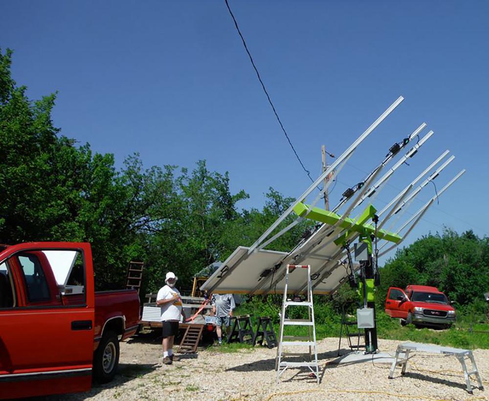 Konza Solar K4 installation
