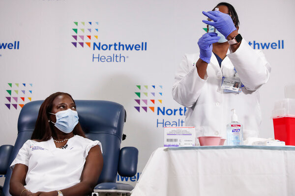 Speeding the Vaccine. Can New York Speed Up the Vaccine Rollout?