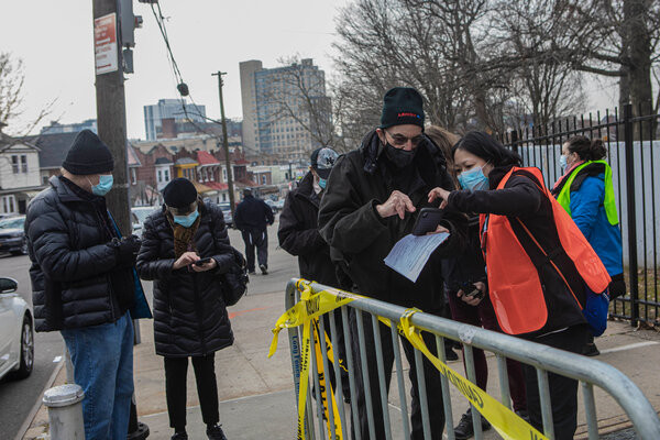 Vaccine Appointments-The Vaccine Hurdles Older New Yorkers Face