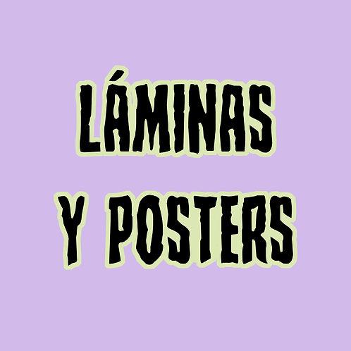 Láminas y posters