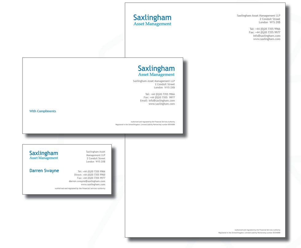 Saxlingham fund branding