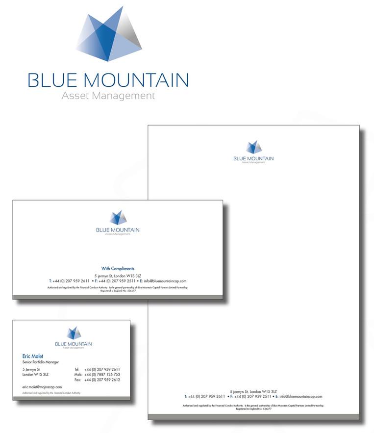 Blue Mountain fund branding