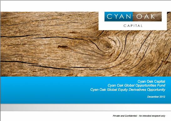 Cyan Oak fund branding