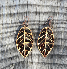 Beech Leaf Earrings