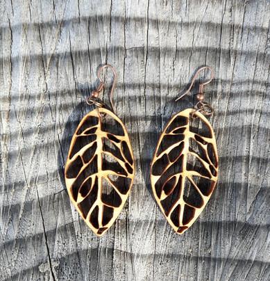 Beech Leaf Earrings
