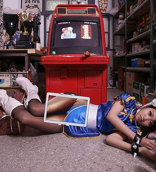 《春麗 Chun-Li》100x72cm,Ed. 3,2014.jpg