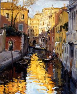 《威尼斯水巷》