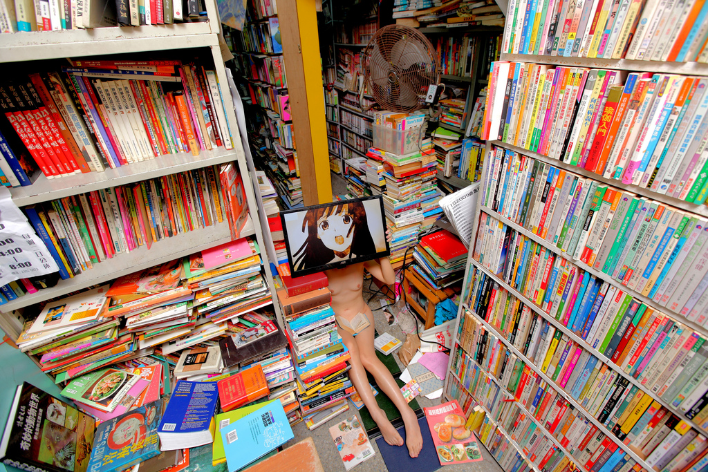 《二手書店|bookstore》