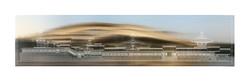 陳飛豪《台灣神宮檔案重構計劃:神社側面全貌、中山高與新生高|Reconstruction of Taiwan Grand Shrine archives Side view of Taiwan Gra