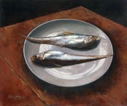 《白瓷鳳尾魚》