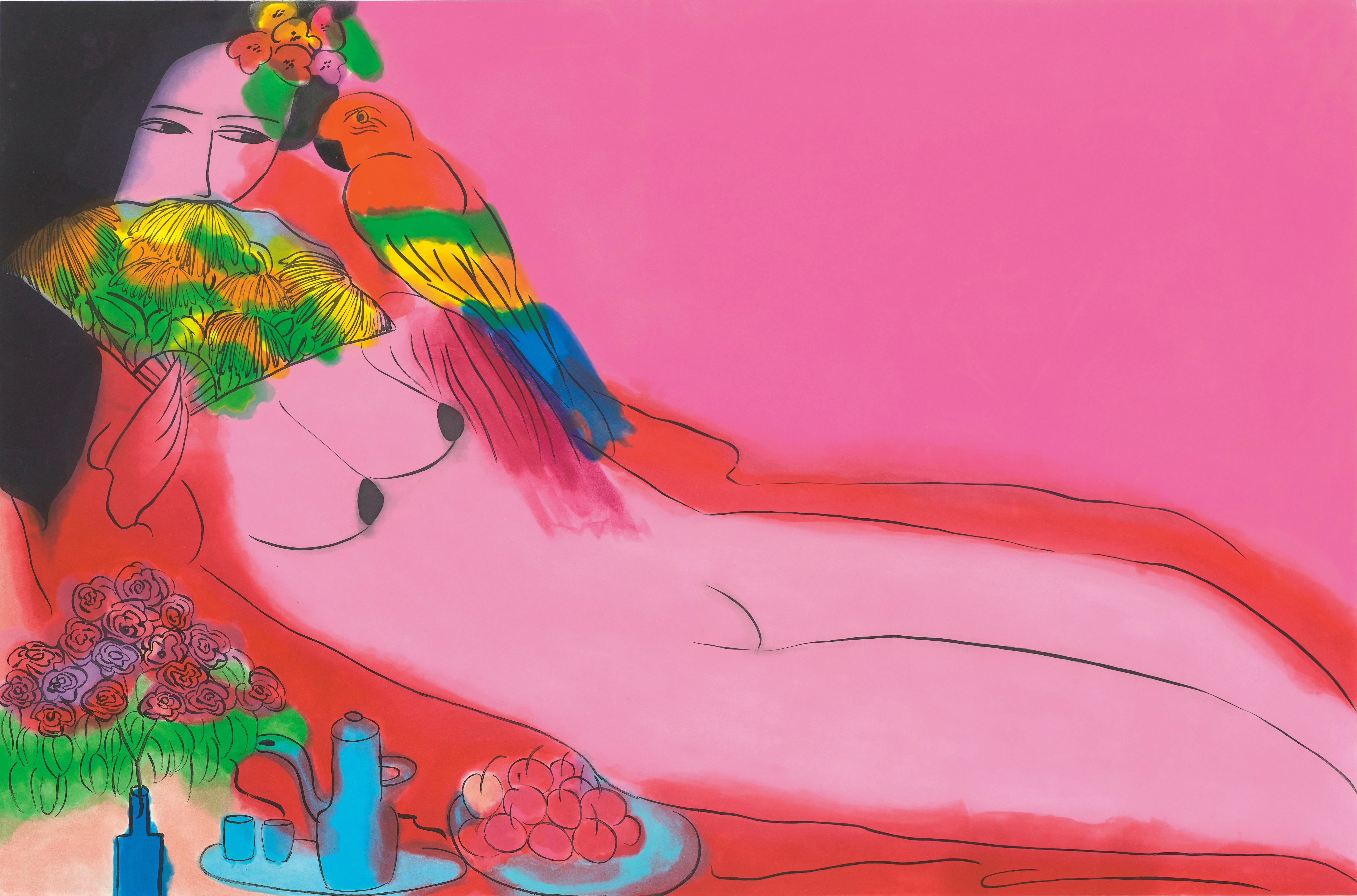 丁雄泉 《裸女》