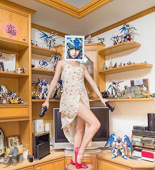 《鋼彈女孩 Gundam Girl》,48x60cm,Ed. 6,2014.jp