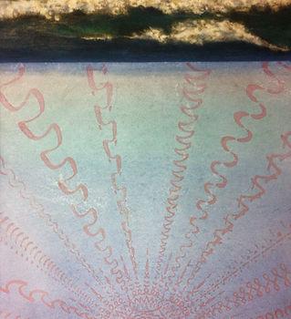 陳柏安《曜》120×65cm,墨、雲母粉、壓克力顏料,2013.JPG