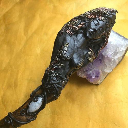 Winged Goddess Magic Wand
