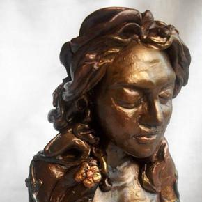 Gaia Goddess Handmade Staute