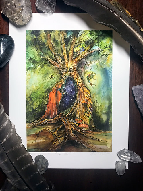 The Fool—Signed 8.5 X 11 Fine Art Giclee photographic print