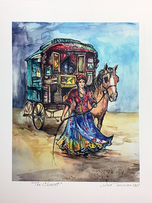 The Chariot —Signed 8.5 X 11 Fine Art Giclee photographic print