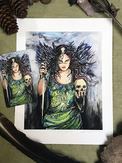 Queen of Swords—Signed 8.5 X 11 Fine Art Giclee photographic print