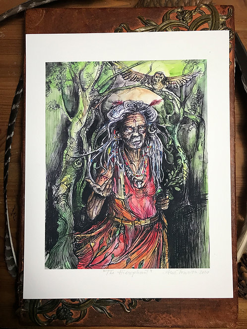 The Hierophant—Signed 8.5 X 11 Fine Art Giclee photographic print