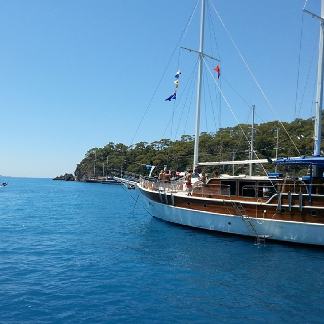 Instagram - Amazing times on sail turkey!!