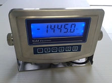 photo of the weigh device monitor