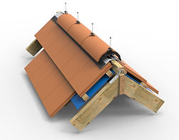 Image showing assembly analysis of roofing structure