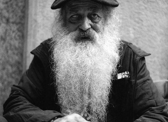 The bearded man of San Seb