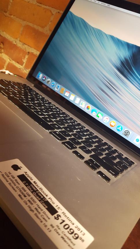 "MacBook Pro 15"" Retina 16GB RAM"