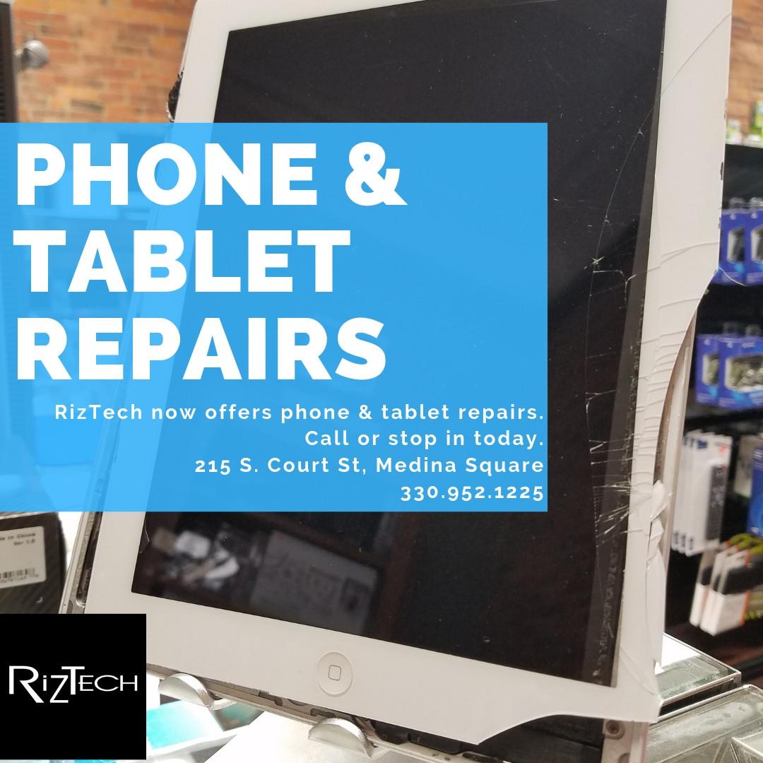 RizTech Computer Sales, Repair & More   Medina Square Ohio