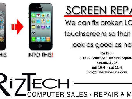 Cell Phone Repairs! Akron - Medina - Cleveland repair center @ RizTech