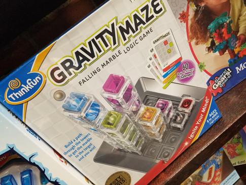 Gravity Maze a Falling Marble Logic Game