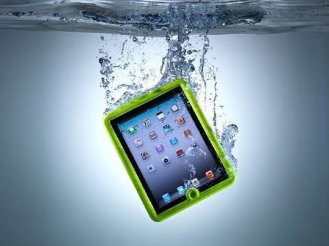 iPad dropped in water