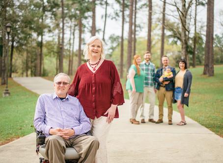 The Denmarks | Family Portraits | Citronelle Community Center