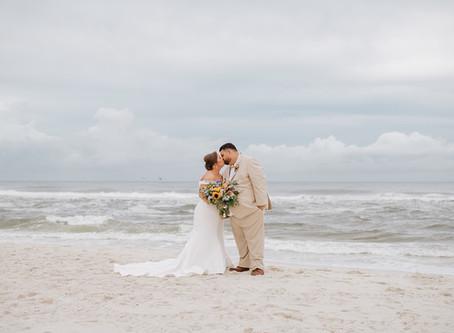 Gulf State Park Wedding   Gulf Shores, AL   Skylar & Brandon