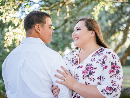 Audrey & Dustin | Engagement | Spring Hill College