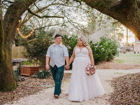 The Venue At Dawes Wedding | Mobile, AL | Daphne & Le'Von