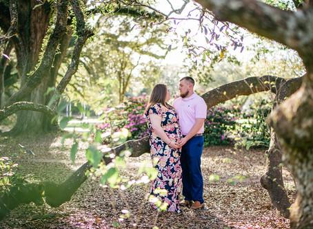 Gabbie & Trenton | Maternity | Spring Hill College
