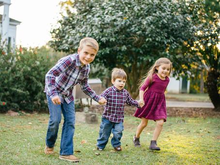 Tristan, Ansleigh, & Nolan | Portraits | Spring Hill College