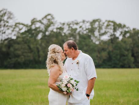 Backyard Wedding | Citronelle, AL | Stephanie & James