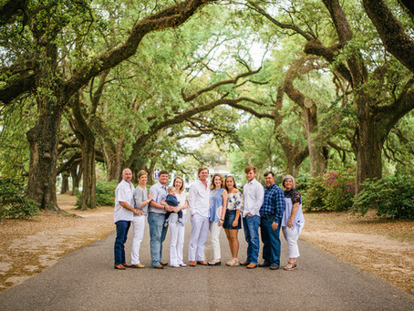 The Thorntons / Gregorys | Family Portraits | Spring Hill College