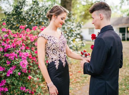 Gracie & Owen   Saraland High School Prom   Charles Wood Japanese Garden
