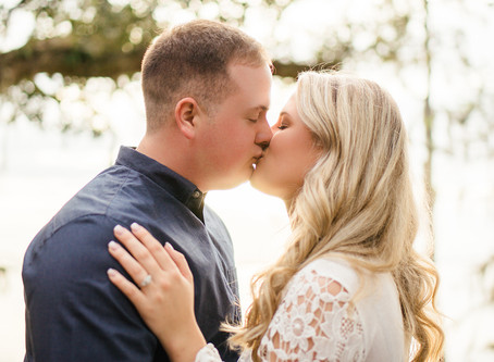 Taylor & Aaron | Engagement | Blakeley State Park