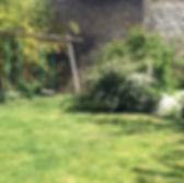 le jardin des chambres aquarelle