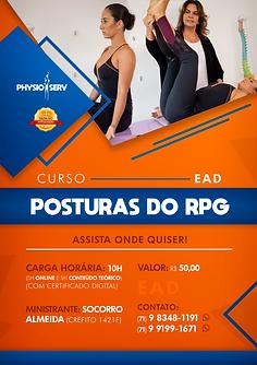Physioserv - Cartaz Posturas do RPG EAD.