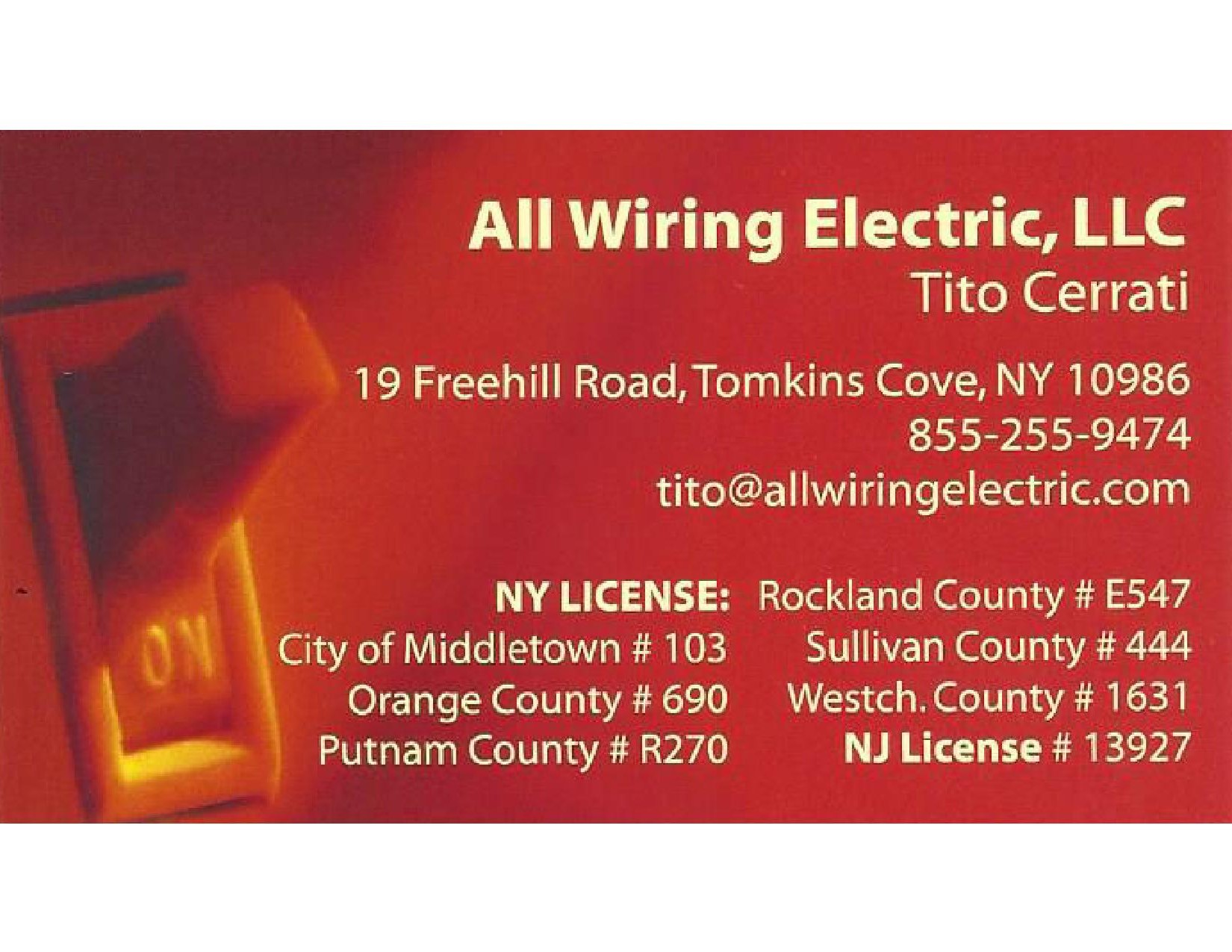 All Wiring Electric, LLC