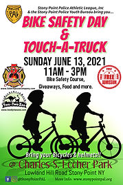 Bike Safety Touch A Truck Event