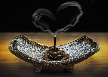 Sacred Incense Clearing Space with