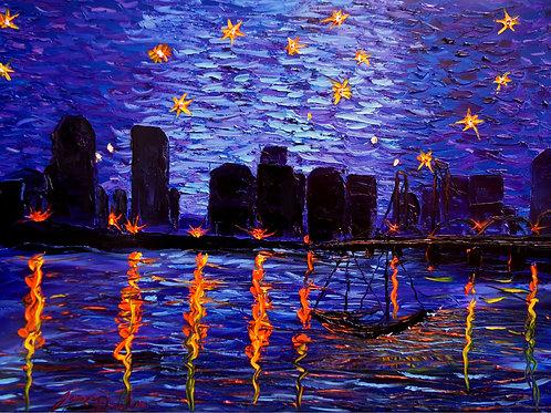 Portland Starry Night