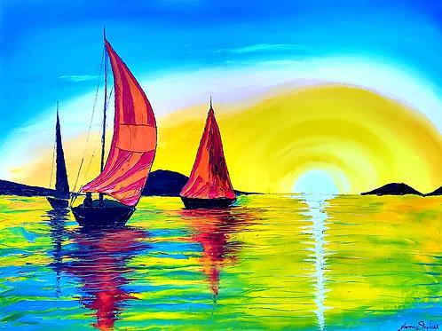 Sunburst Sails #2