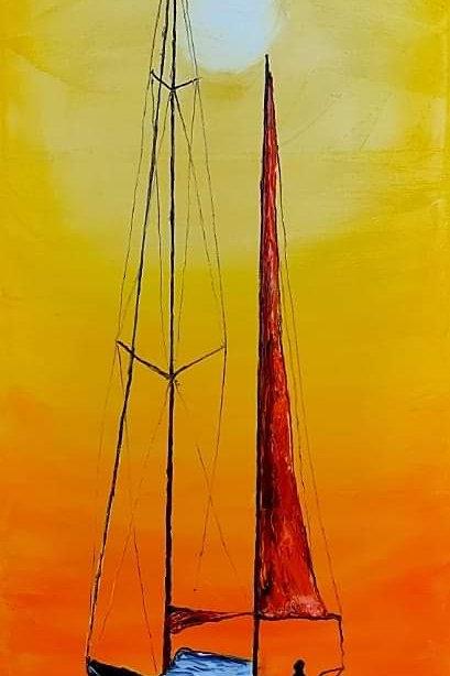 Orange Sunset Sails #4